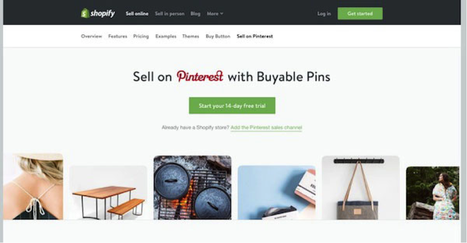 How to Sell on Pinterest Using a Shopify Account