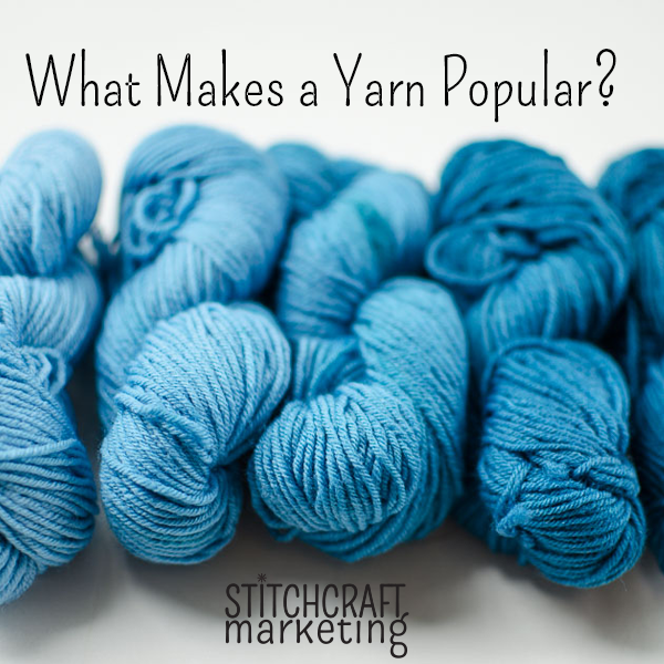 Top 25 Yarns with the Most Projects on Ravelry