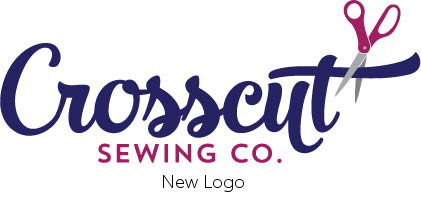 Crosscut Sewing Co. rebranding