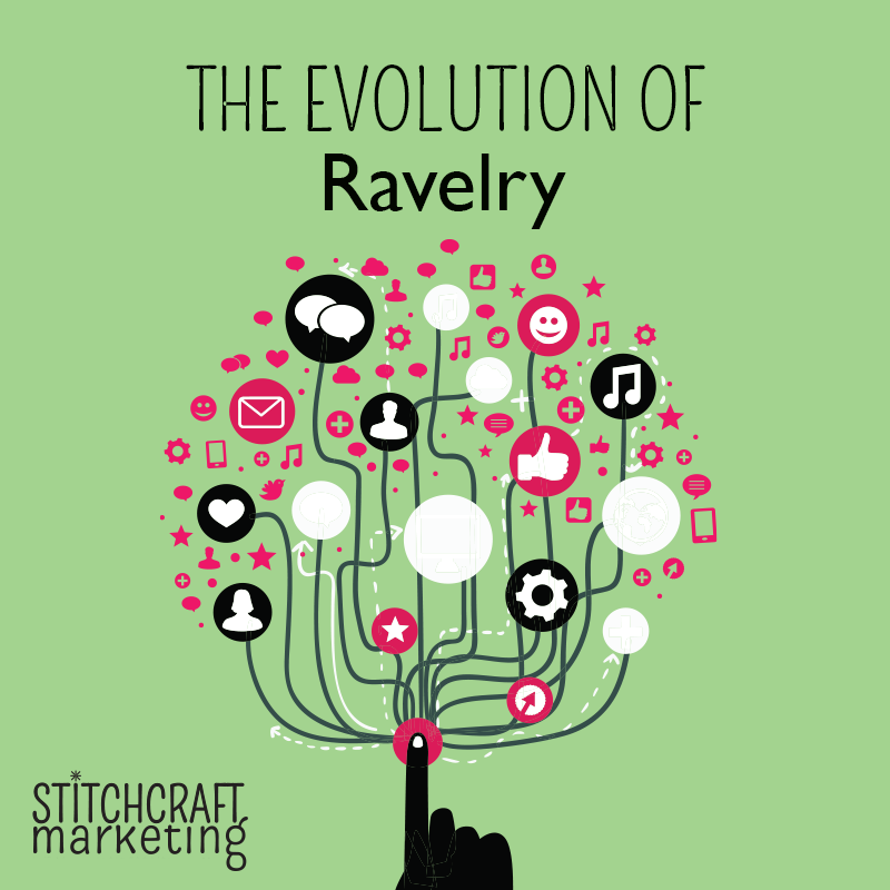 Stitchcraft Marketing report on Ravelry