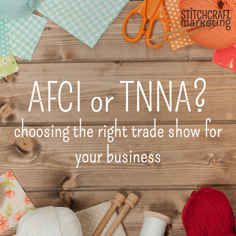 how to choose the right trade show for your craft business