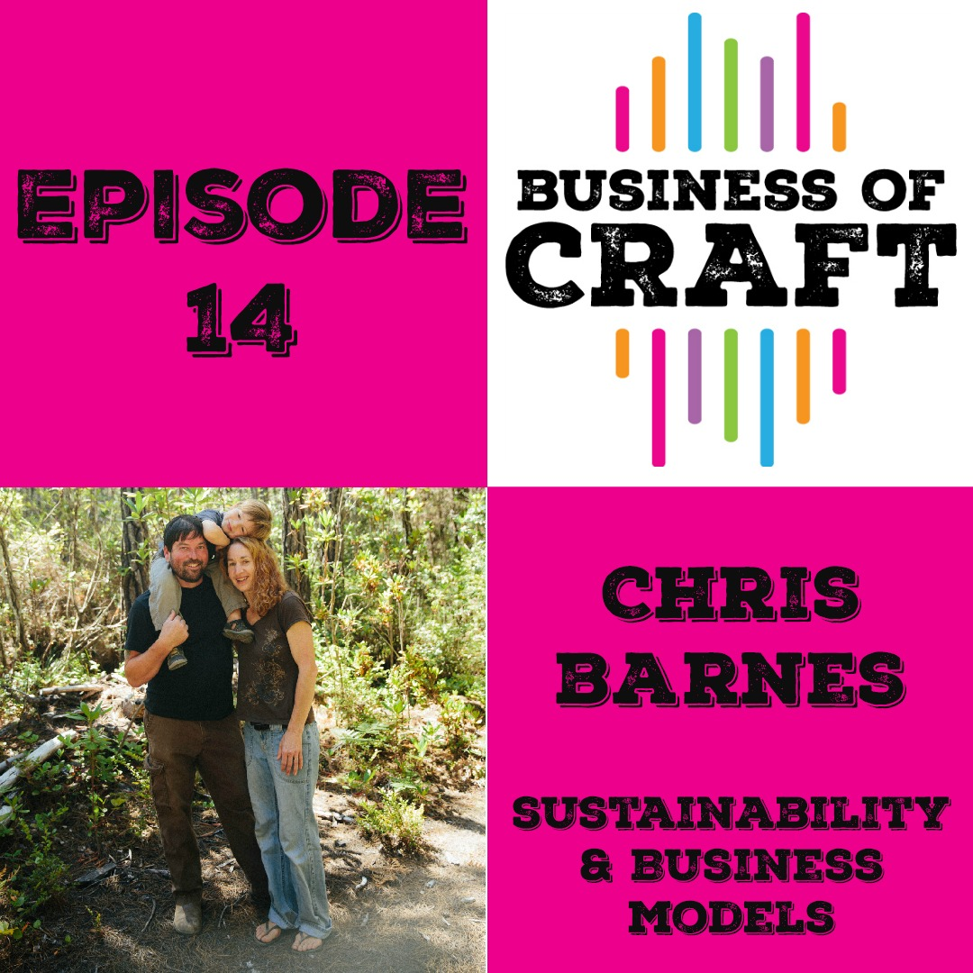 Business of Craft Episode 14 Chris Barnes of Brittany Needles on Sustainability and Business Models
