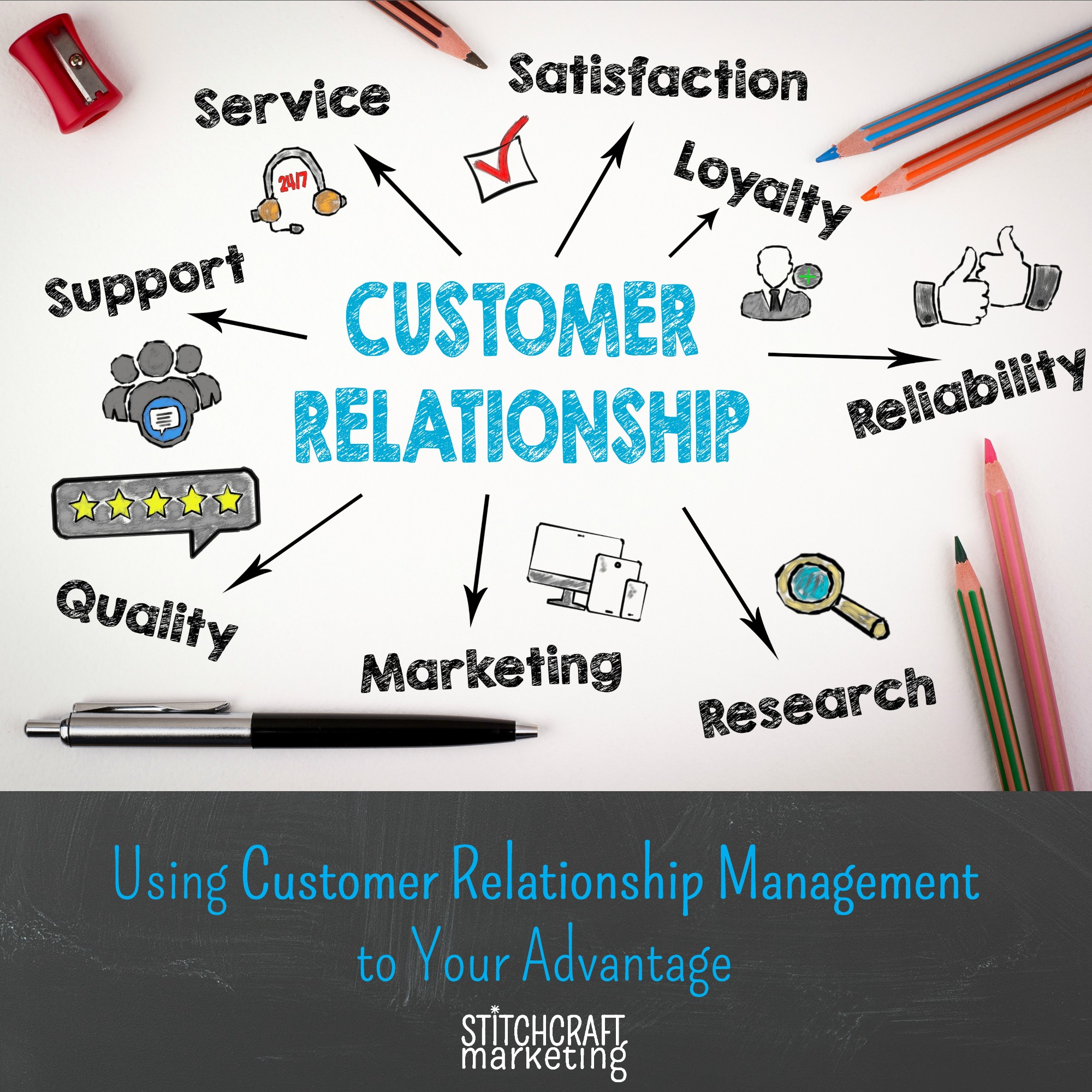 Using Customer Relationship Management to your Advantage