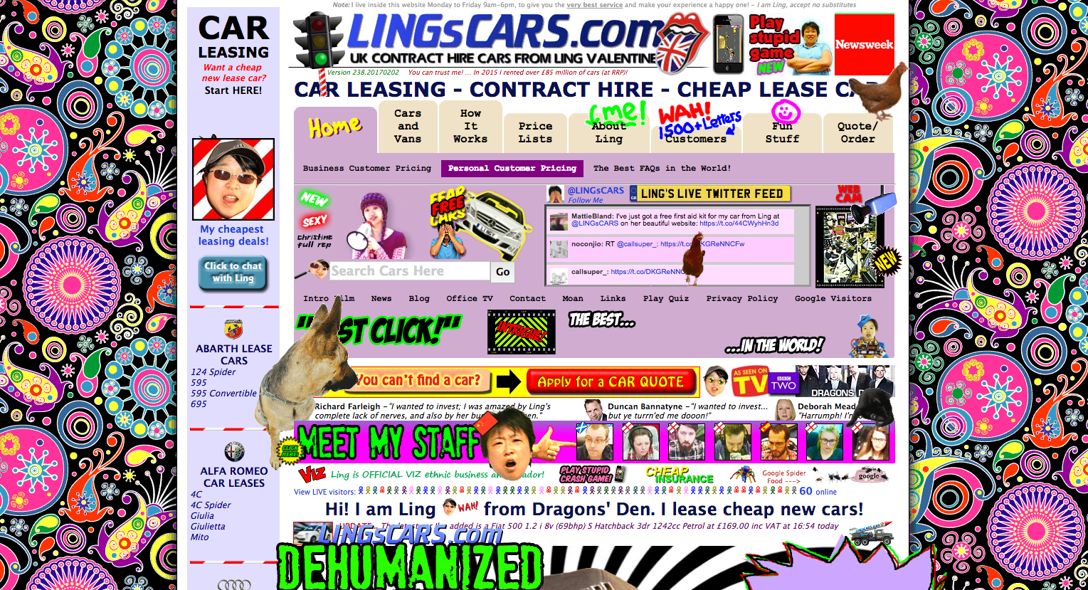 website example