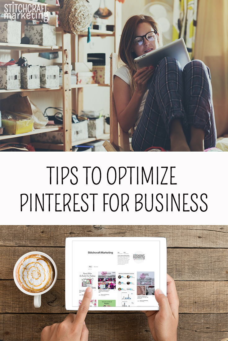 best tips to optimize pinterest for craft businesses