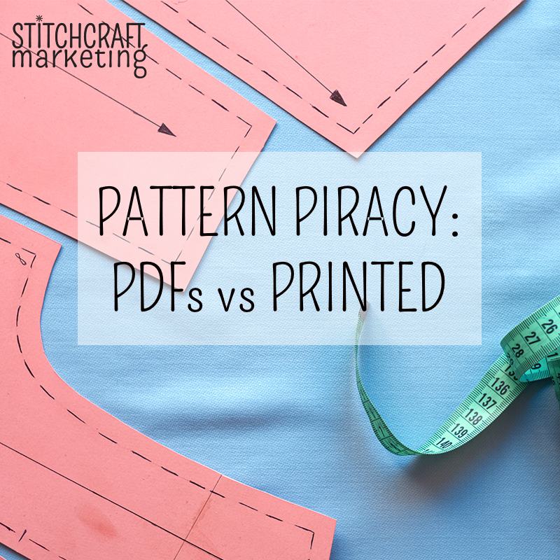 piracy of patterns, stitchcraft marketing