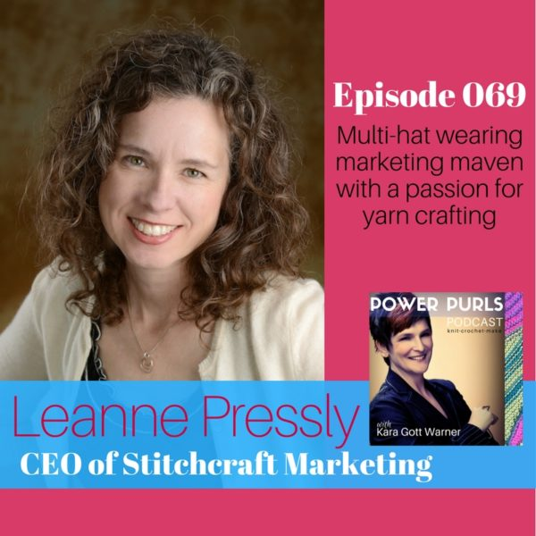 Leanne Pressly on Power Purls Podcast