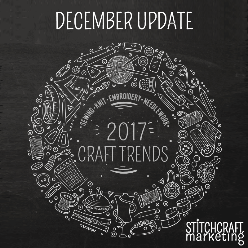 2017 craft trends december update