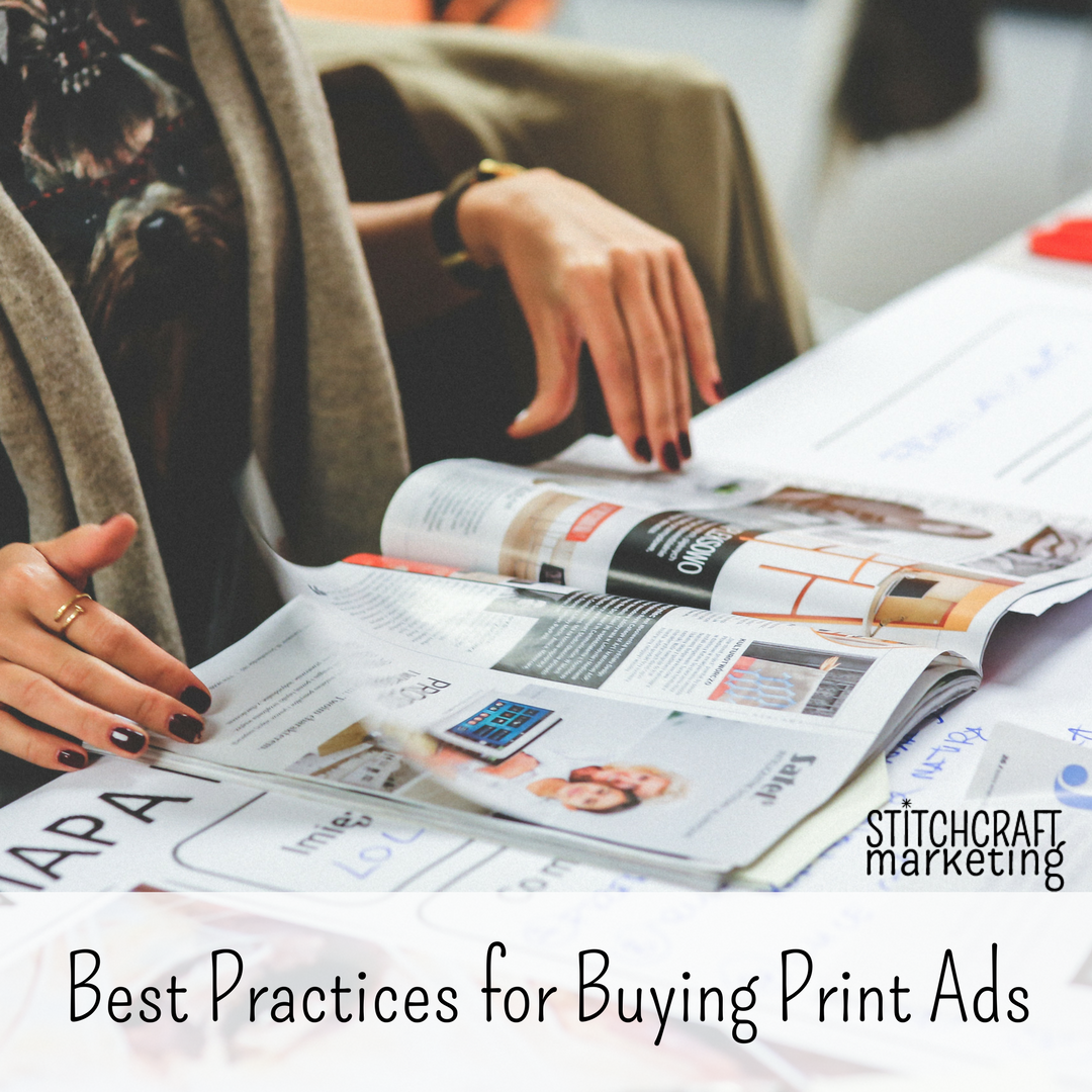 Best Practices for Buying Print Ads