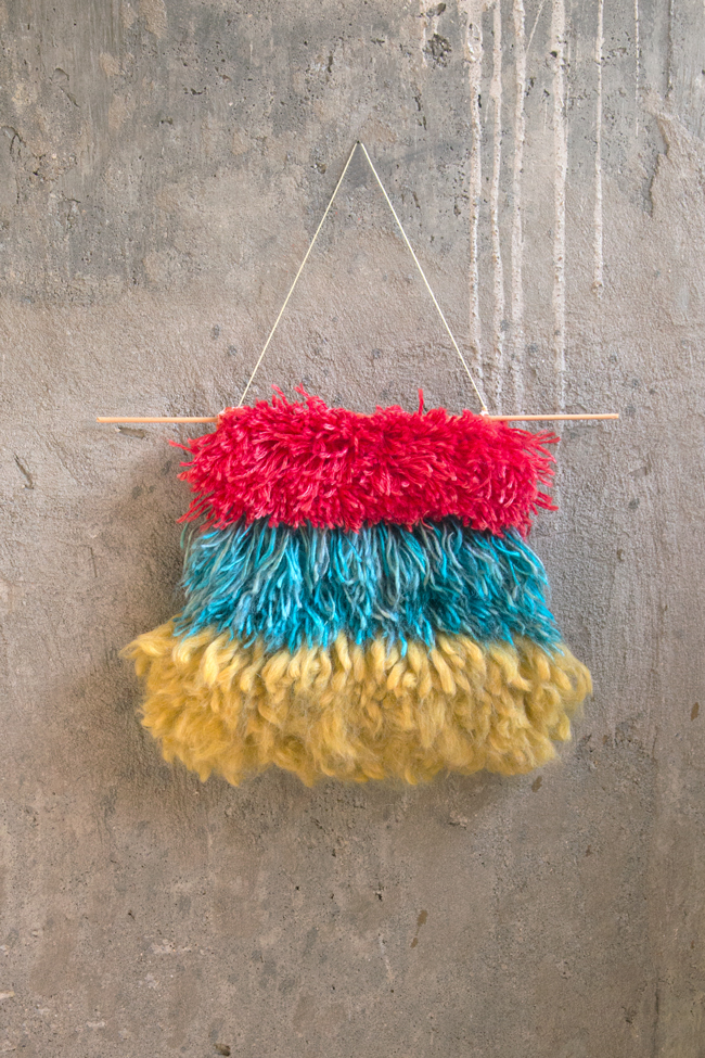 Primary Tiers Wall Hanging