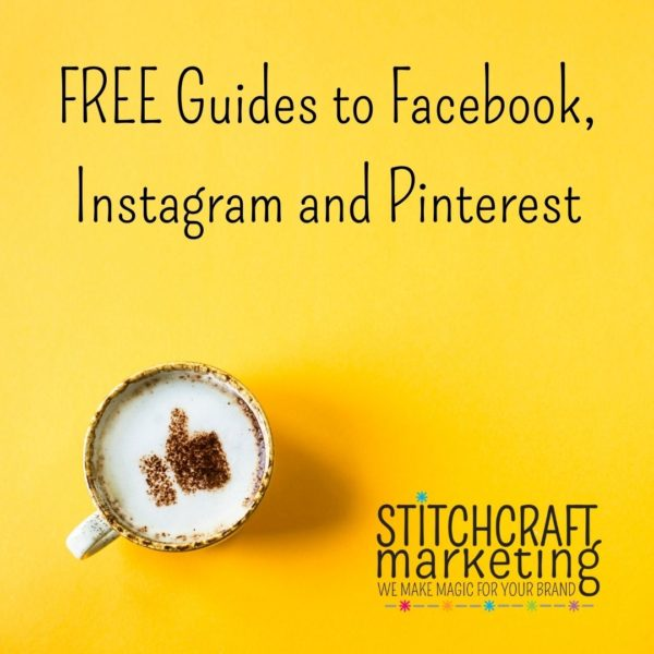 FREE PDF Guides to Facebook, Instagram and Pinterest